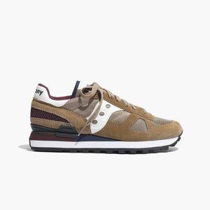 Saucony sneakers Madewell 6.5 green maroon running